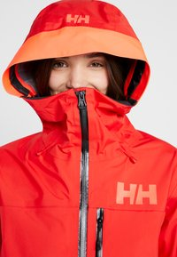 Helly Hansen - KVITEGGA SHELL JACKET - Snowboardjakke - alert red - 5