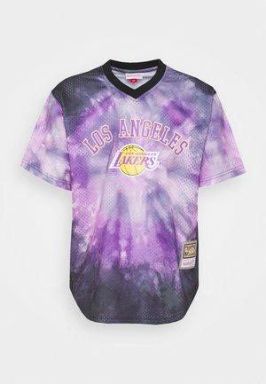 NBA LOS ANGELES LAKERS TIE DYE  - Klubbkläder - multi
