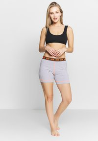 Moschino Underwear - SHORT PANTS - Pyjamasbukse - gray melange - 1