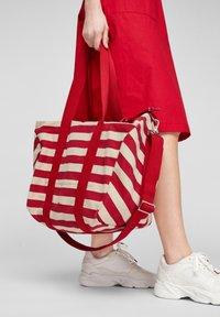 s.Oliver - Tote bag - red stripes - 2