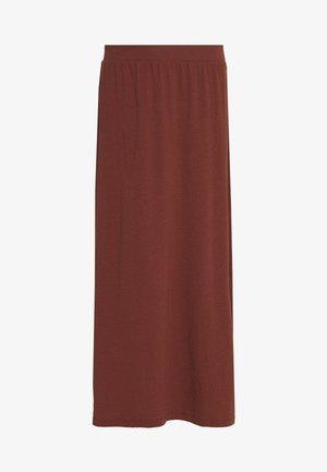 VMHENIREBECCA ANKLE SKIRT - A-line skirt - sable