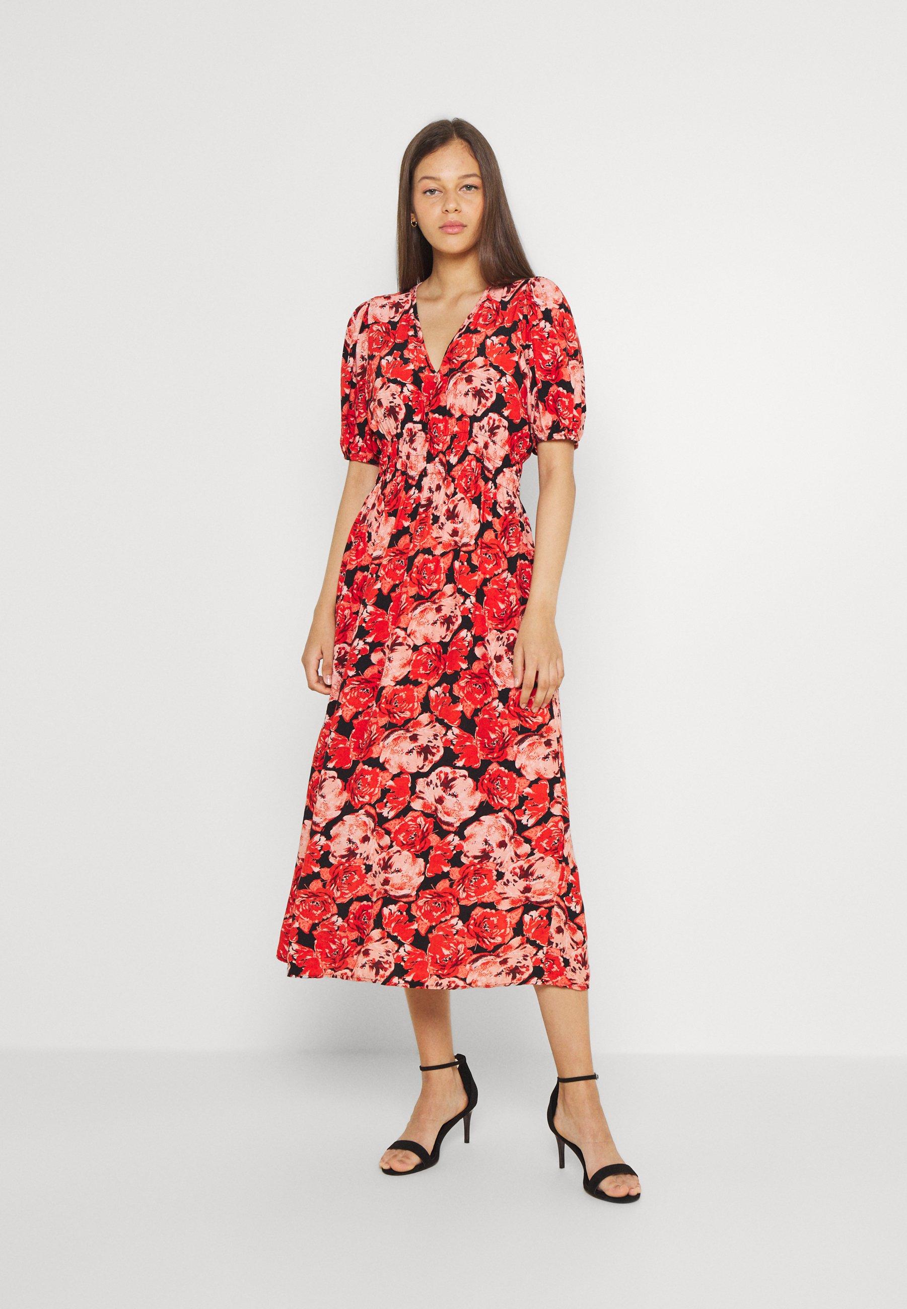 Women VMPAJA DRESS  - Day dress - goji berry