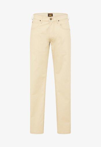 DAREN ZIP FLY - Trousers - service sand