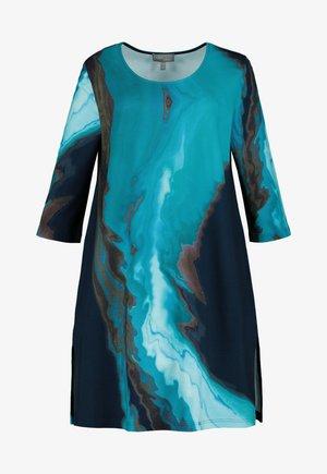 Jersey dress - bleu sarcelle