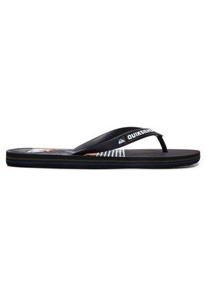 MOLOKAI JUNGLE SWELL - Pool shoes - black/grey/black