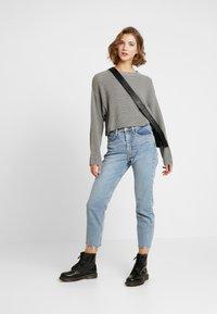 Even&Odd - CROPPED JUMPER - Pullover - grey - 1