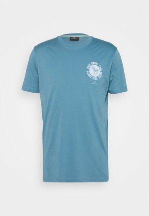 EXCLUSIVE ZEBRA - T-shirt med print - teal