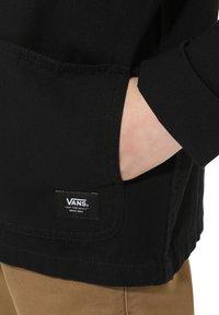 Vans - BY DRILL CHORE COAT BOYS - Summer jacket - black - 2