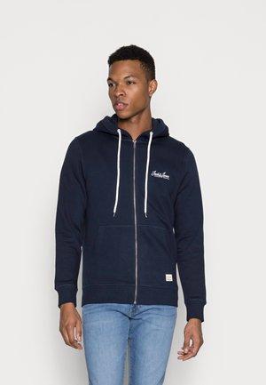 JORTONS ZIP HOOD NOOS - Zip-up sweatshirt - navy blazer