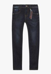 Vingino - ANTON - Jeans Skinny Fit - deep dark - 0