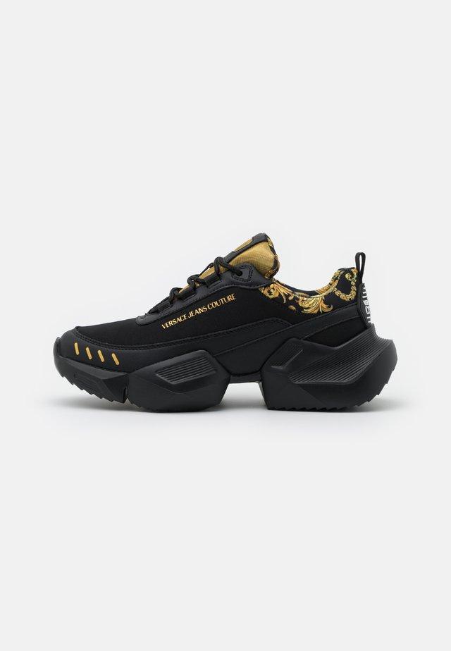 Baskets basses - black/gold