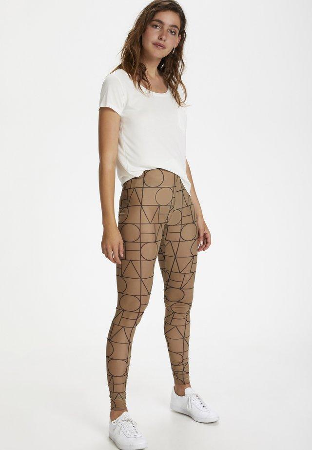 Leggings - love print ermine