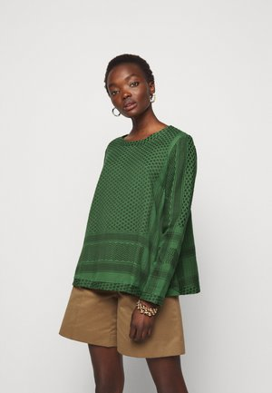 Long sleeved top - moss