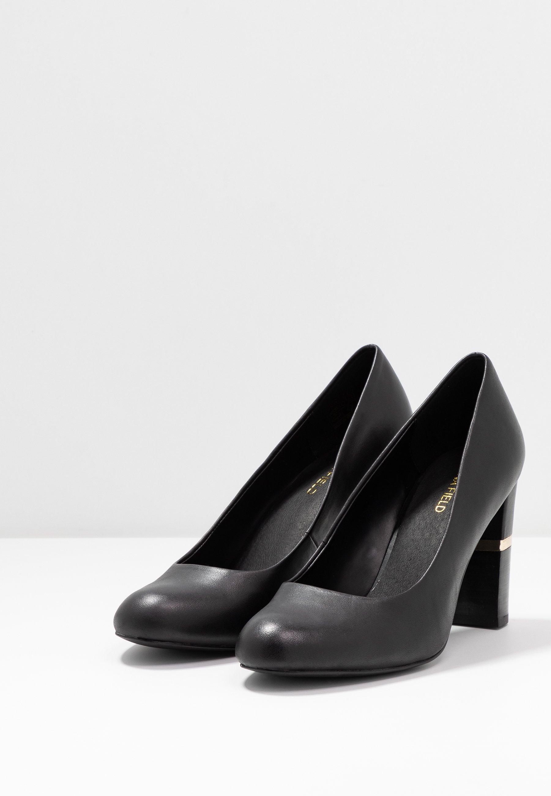 A hoy Anna Field LEATHER PUMPS - Zapatos altos - black | Calzado de mujer2020 bGmyN