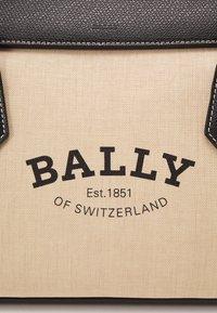 Bally - BALLY SOMMET - Handbag - natura/black - 6