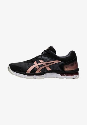 GEL-NETBURNER ACADEMY 8 - Sneakers basse - black/rose gold