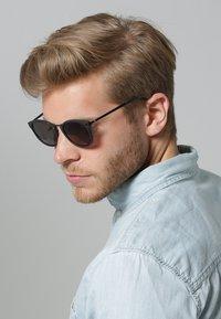 Kerbholz - HERRMANN - Sunglasses - matt black/solid grey - 1