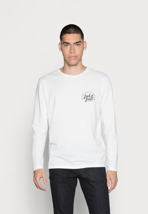 JJKIMBE CREW NECK - Camiseta de manga larga - bright white
