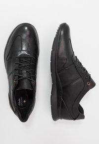 Clarks - TYNAMO TIE - Sneakers basse - black - 1