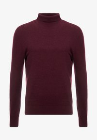 Burton Menswear London - CORE ROLL - Jumper - burgundy - 3