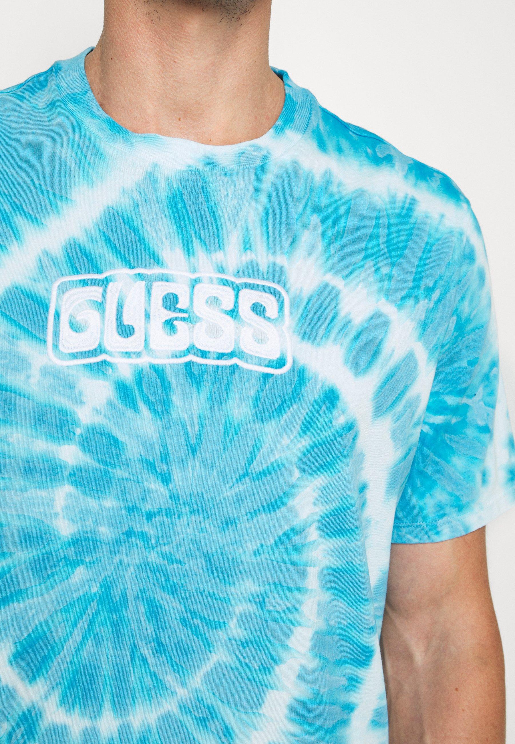 Guess T-shirts med print - blue