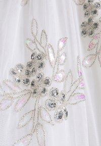 Maya Deluxe - EMBELLISHED BOW BACK DRESS - Společenské šaty - white - 8