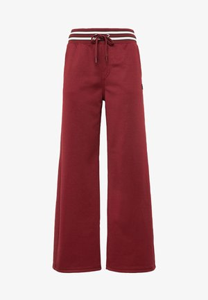 LUCAY WIDE TRACK PANT WMN - Broek - port red
