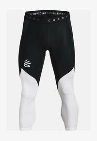 Sportovní ponožky - black / white / black