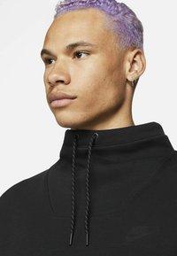 Nike Sportswear - M NSW TCH FLC LS FNL - Sweatshirt - black/black - 4
