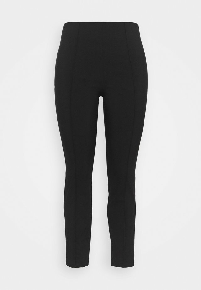 PULL ON TREGGING - Broek - black