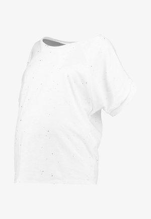 LUKKI - T-shirt print - white
