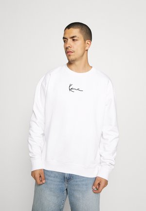 SMALL SIGNATURE CREW - Sweater - white
