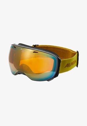 BIG HORN - Masque de ski - grey/curry