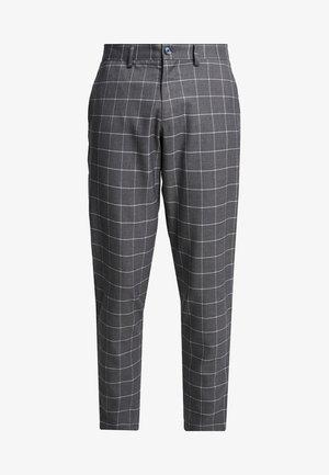 CLUB PANTS CHECKED - Pantaloni - grey