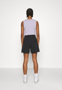 Lee - STELLA - Shorts di jeans - black duns - 2