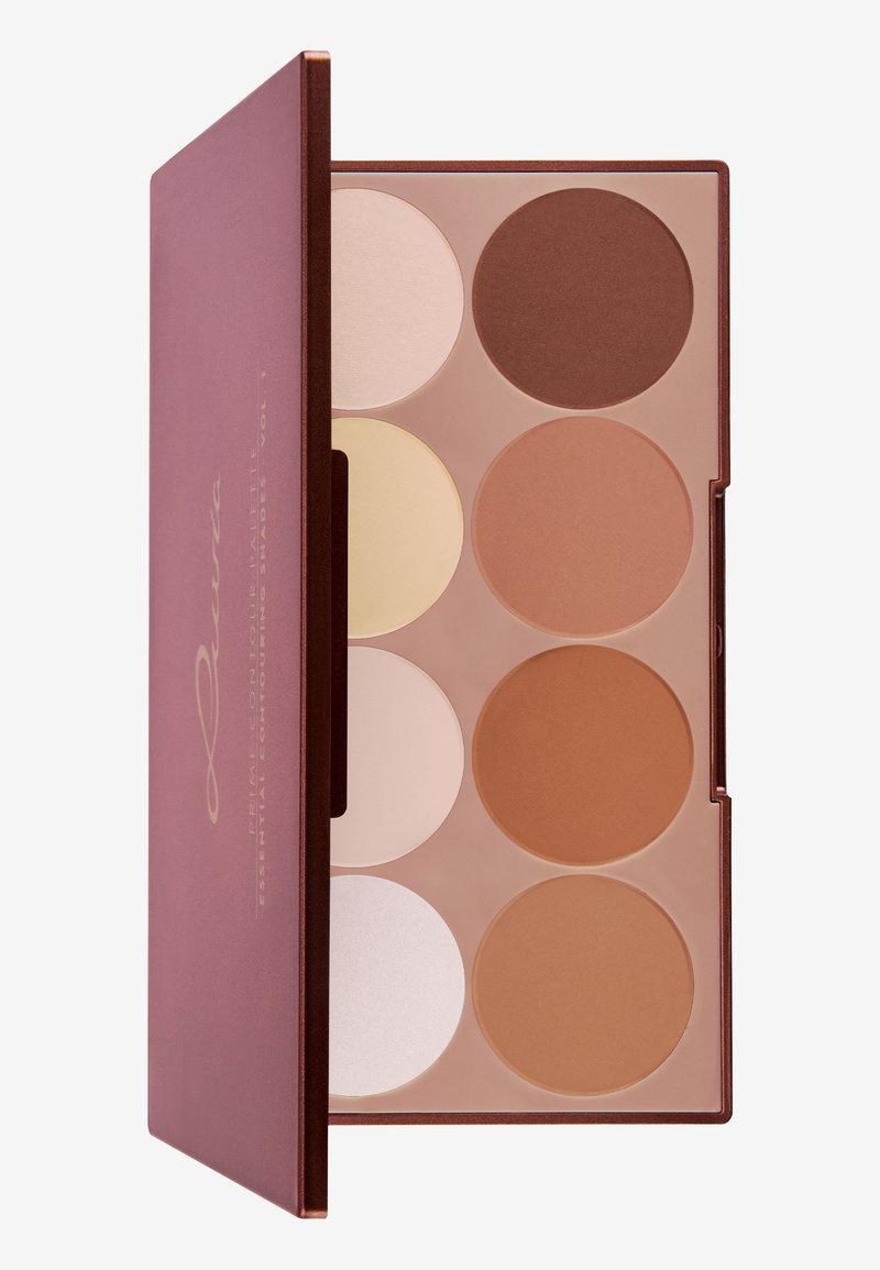 Luvia Cosmetics - PRIME CONTOUR PALETTE-ESSENTIAL CONTOURING SHADES VOL.1 - Face palette - -