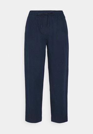 CROPPED - Kalhoty - dress blue