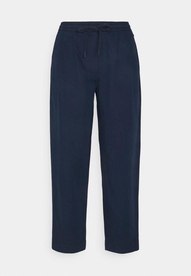 CROPPED - Pantalon classique - dress blue