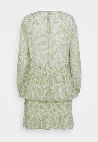 Gina Tricot - AMBER PLEATED DRESS - Day dress - green - 7