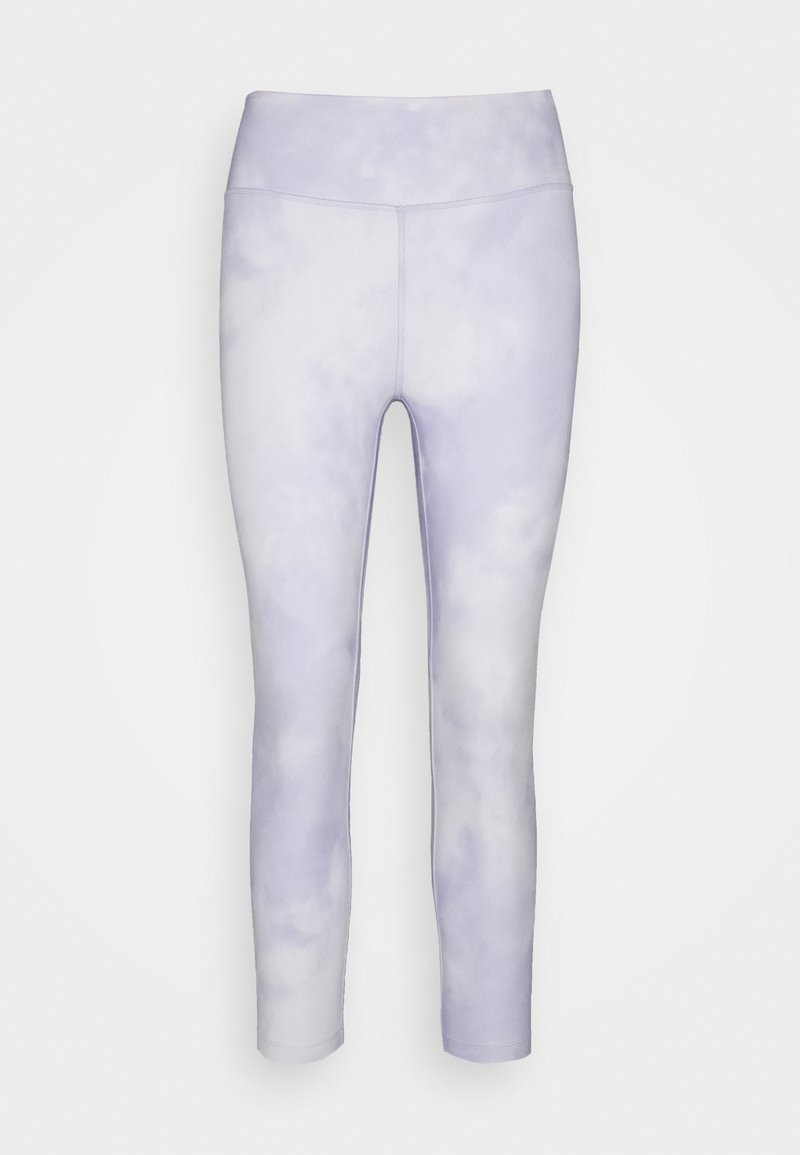 Nike Performance - ONE CROP - Collants - light thistle/white