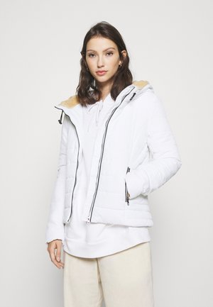 ONLSHELLY HOODED JACKET - Light jacket - bright white