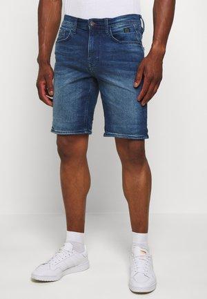 Shorts di jeans - denim middle blue