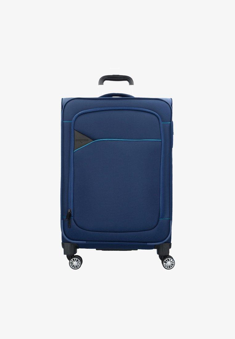 Hardware - Wheeled suitcase - blue