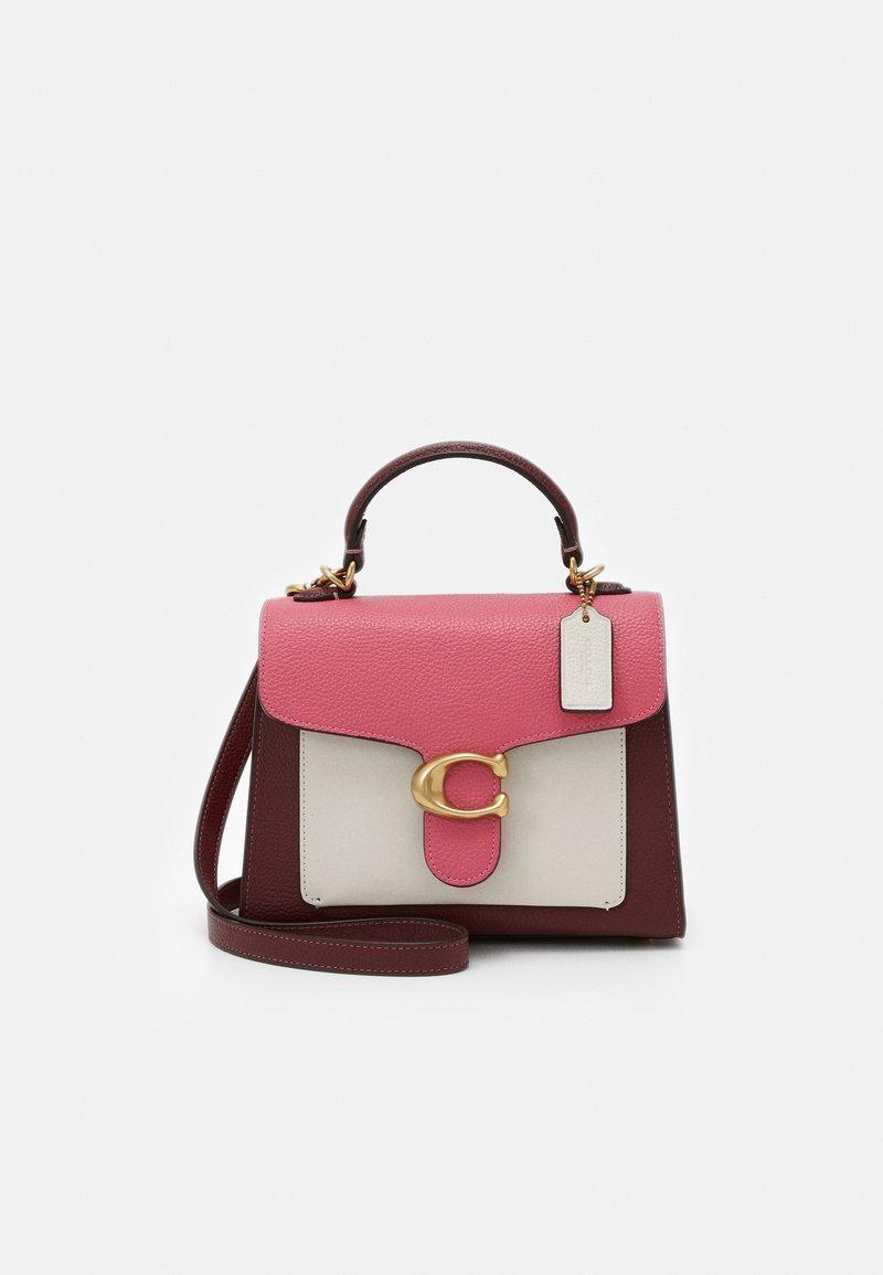 Coach - COLORBLOCK TABBY TOP HANDLE - Handbag - confetti pink/multi