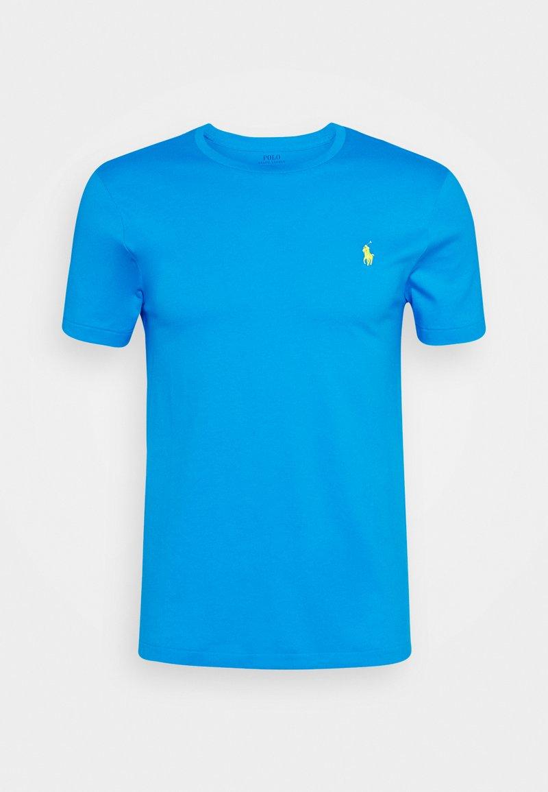 Polo Ralph Lauren - CUSTOM SLIM FIT CREWNECK - Jednoduché triko - blue