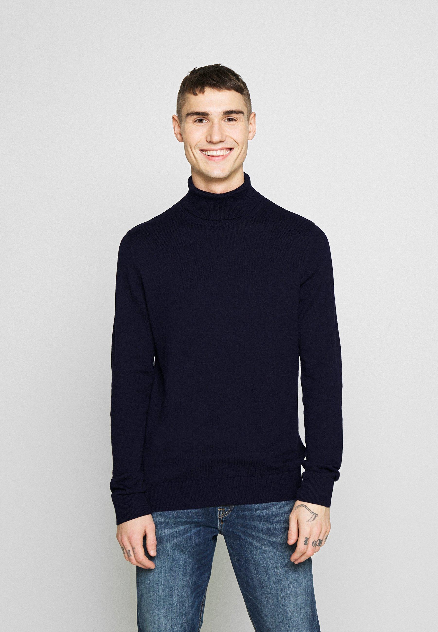 Homme JJEEMIL ROLL NECK  - Pullover