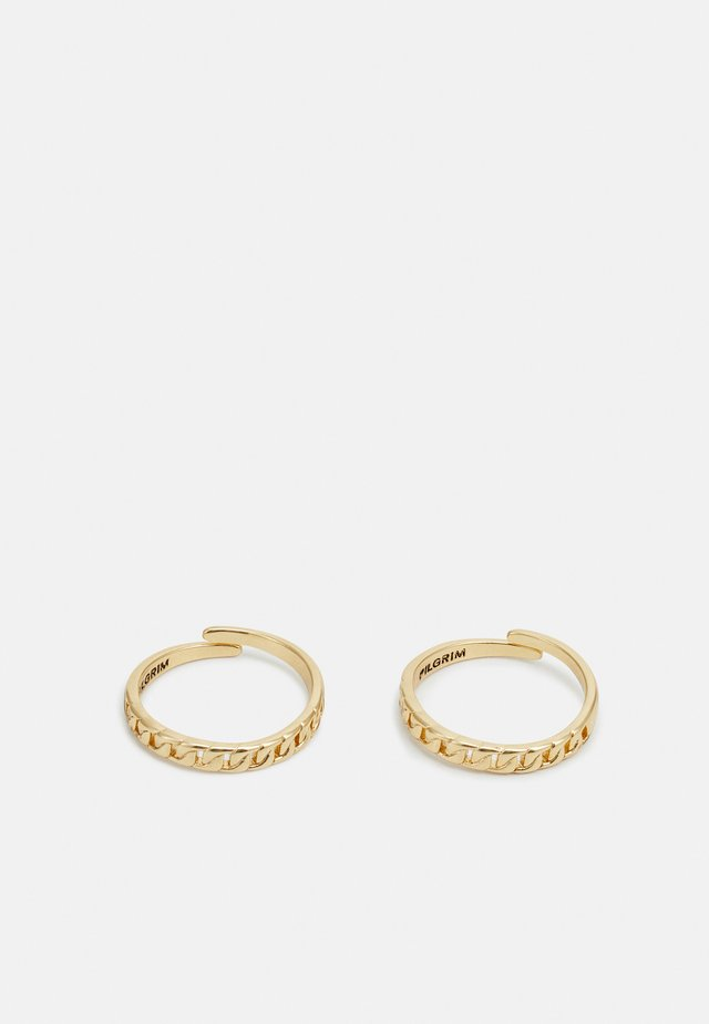RING HAVEN 2 PACK - Anello - gold-coloured