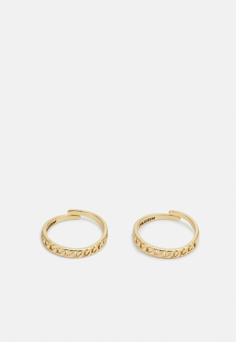 Pilgrim - RING HAVEN 2 PACK - Ring - gold-coloured