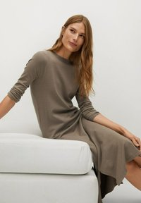Mango - SOFA-A - Jumper dress - beige - 5