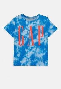 GAP - TODDLER BOY LOGOMANIA TEE - Print T-shirt - blue burst - 0